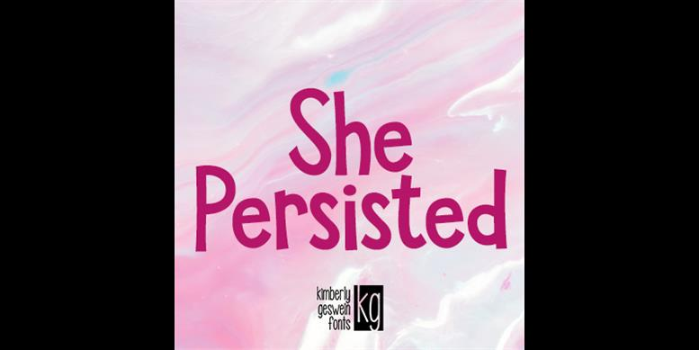 Thumbnail for KG She Persisted