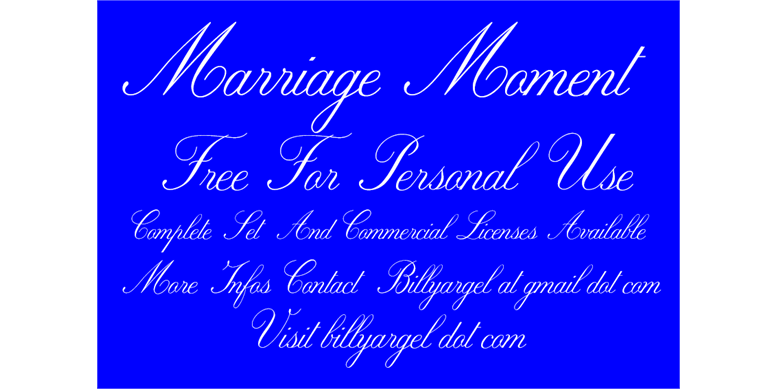 Thumbnail for Marriage Moment Personal Use