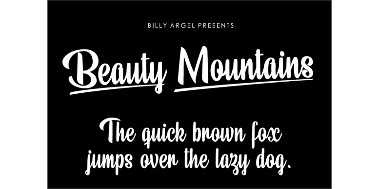 Thumbnail for Beauty Mountains Personal Use