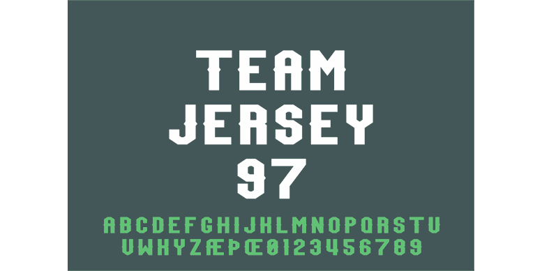 Thumbnail for Team Jersey 97