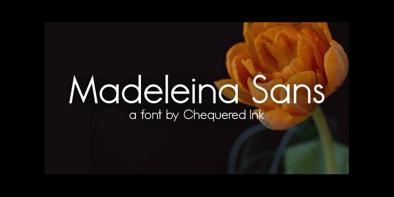 Thumbnail for Madeleina Sans