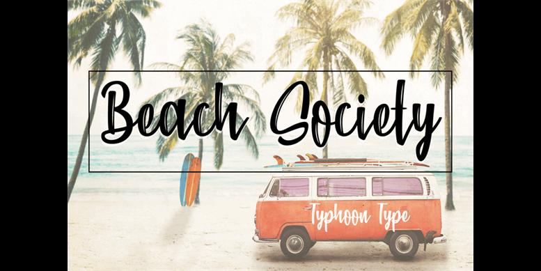 Thumbnail for Beach Society