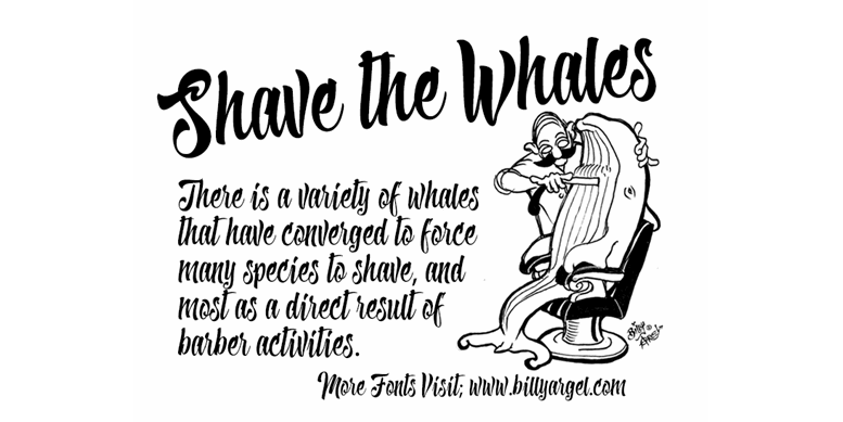 Thumbnail for Shave the Whales Personal Use