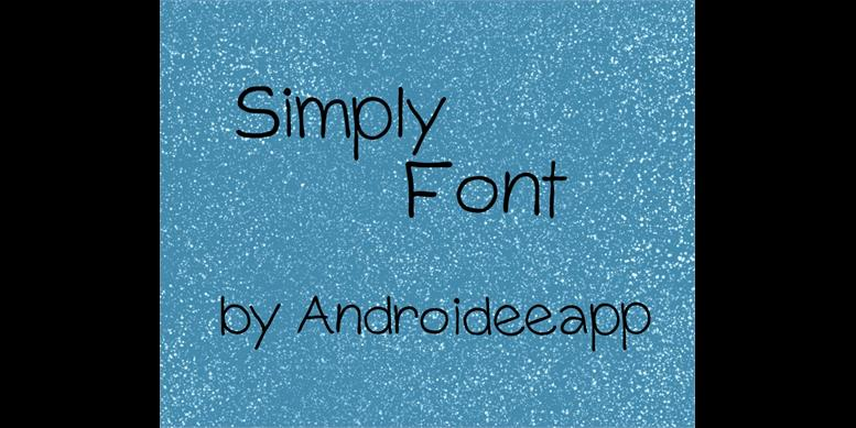 Thumbnail for Simply Font