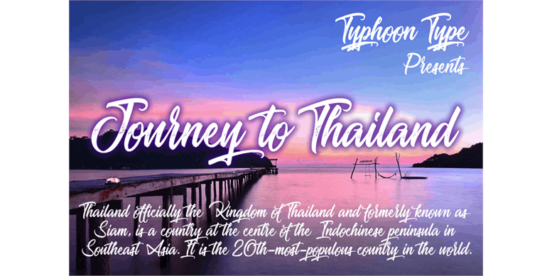 Thumbnail for Journey to Thailand