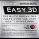 Thumbnail for Easy 3D