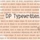 Thumbnail for DPTypewritten