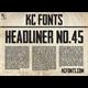 Thumbnail for Headliner No. 45