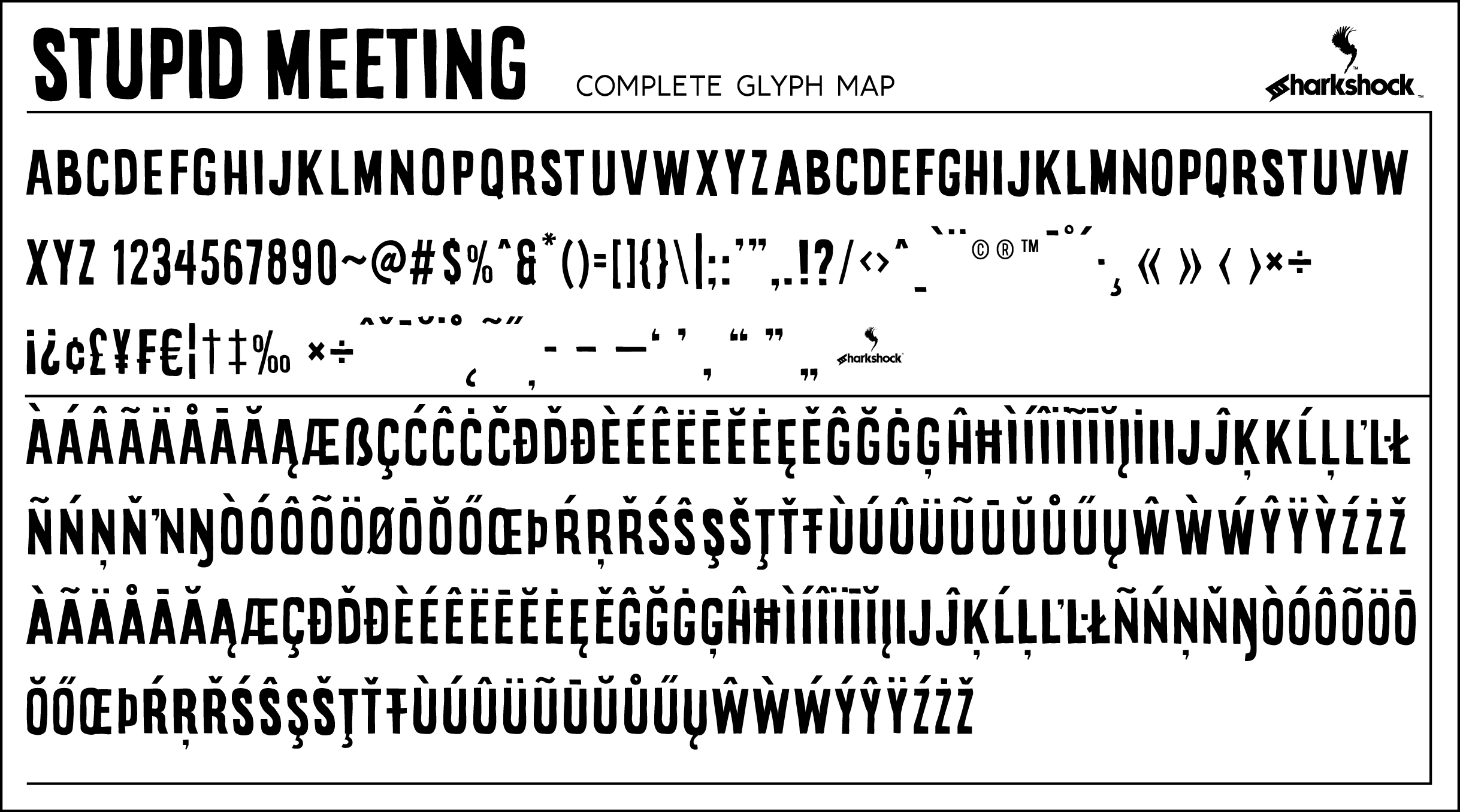 Image gallery for stupid meeting font fontspace sample image of stupid meeting font by sharkshock altavistaventures Image collections