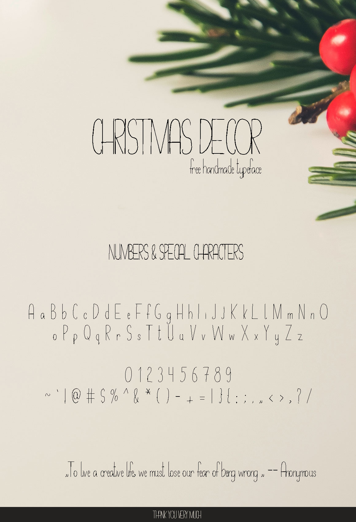Image gallery for Christmas Decor font  FontSpace