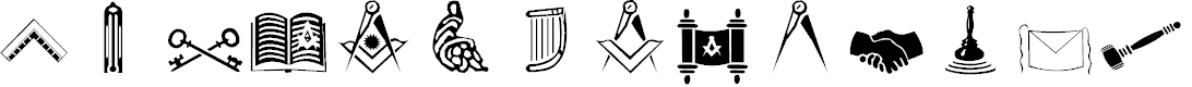 Preview image for Masonic Cipher & Symbols
