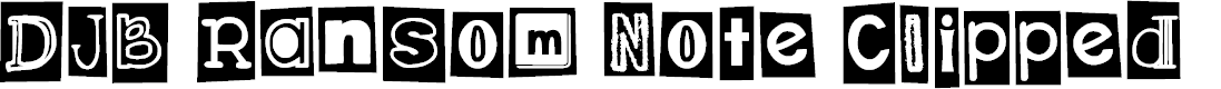 Preview image for DJB Ransom Note Clipped