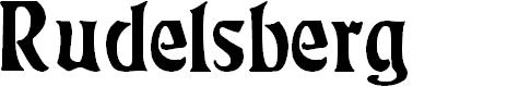 Preview image for Rudelsberg Regular