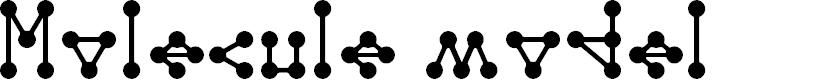 Preview image for Molecule model Regular E.