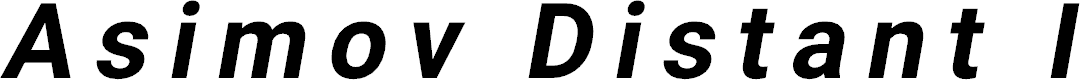 Preview image for Asimov Distant Italic