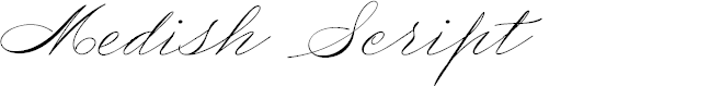 Preview image for Medish Script PERSONAL USE ONLY