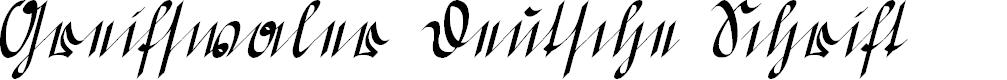 Preview image for Greifswaler Deutsche Schrift