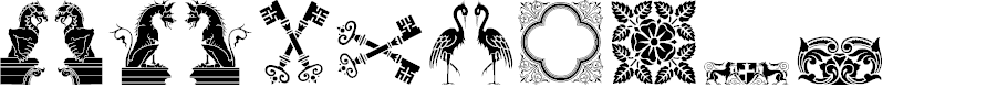 Preview image for Medieval Dingbats