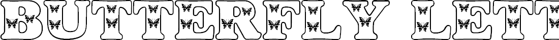 Preview image for Butterfly Letters