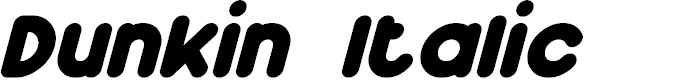 Preview image for Dunkin Italic