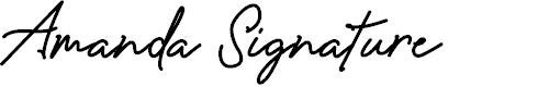 Preview image for Amanda Signature