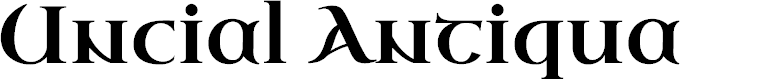 Preview image for Uncial Antiqua