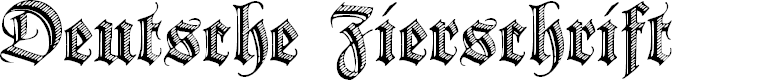 Preview image for Deutsche Zierschrift