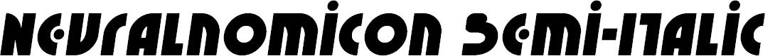 Preview image for Neuralnomicon Semi-Italic