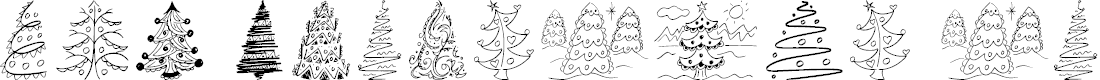 Preview image for Fun Christmas Trees