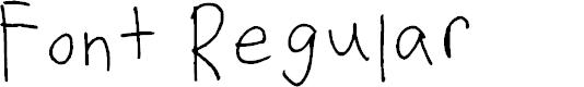 Preview image for Font Regular