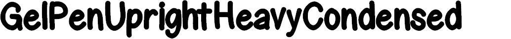 Preview image for GelPenUprightHeavyCondensed