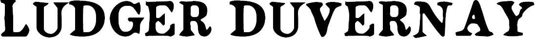 Preview image for Ludger Duvernay Regular