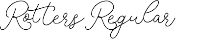 Preview image for RottersRegular