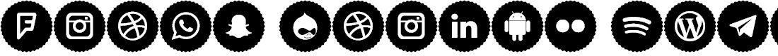 Preview image for Icons Social Media 9