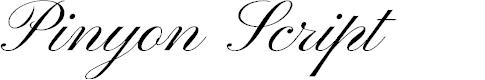 Preview image for Pinyon Script