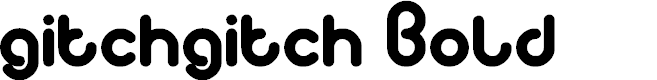 Preview image for gitchgitch Bold