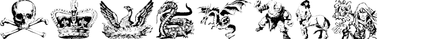 Preview image for Fantasy Clipart