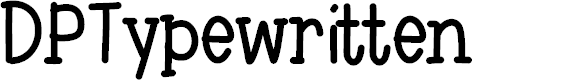 Preview image for DPTypewritten