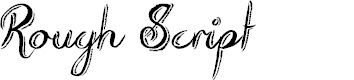 Preview image for Rough Script