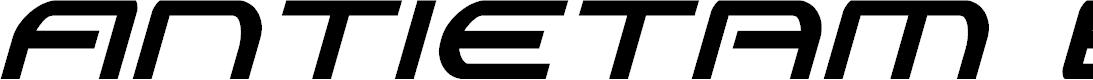 Preview image for Antietam Extra-Condensed Italic