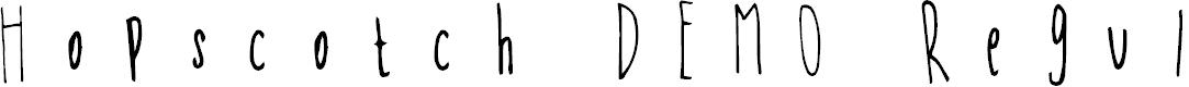 Preview image for Hopscotch DEMO Regular