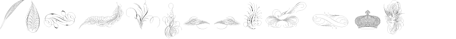 Preview image for Penmanship Birds and Ornaments Free
