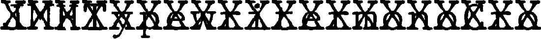 Preview image for JMHTypewritermonoCross-Regular