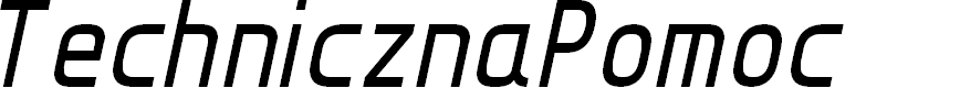 Preview image for TechnicznaPomoc Italic