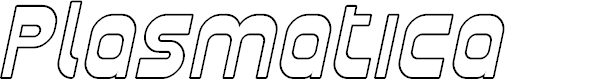 Preview image for Plasmatica Outline Italic