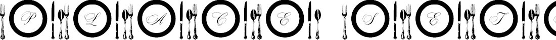 Preview image for AL Place Settings Letters