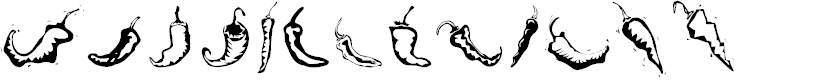 Preview image for Chili Pepper Dingbats