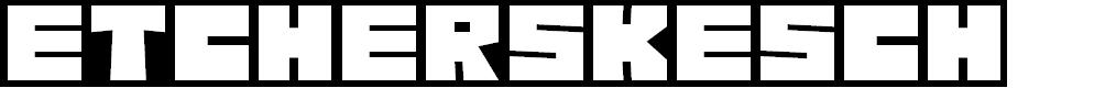 Preview image for EtcherSkesch Regular