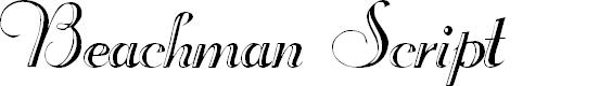 Preview image for Beachman Script