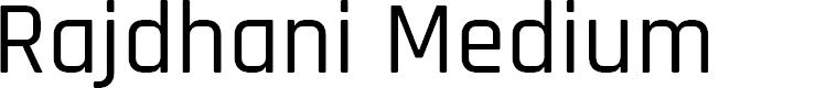 Preview image for Rajdhani Medium